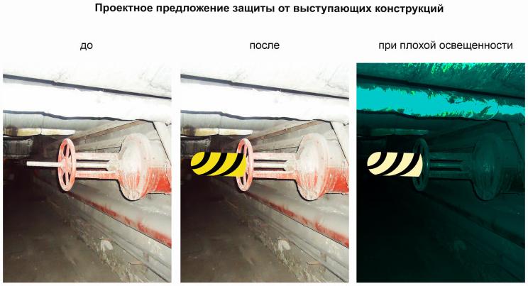 Пример 5 визуализации проекта  маркировки опасных зон